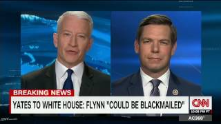 Rep. Swalwell on CNN AC360 discussing Sally Yates and Trump-Russia ties