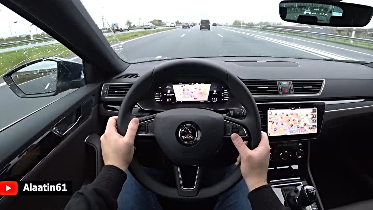 The New Skoda Superb 2020 Test Drive Youtube