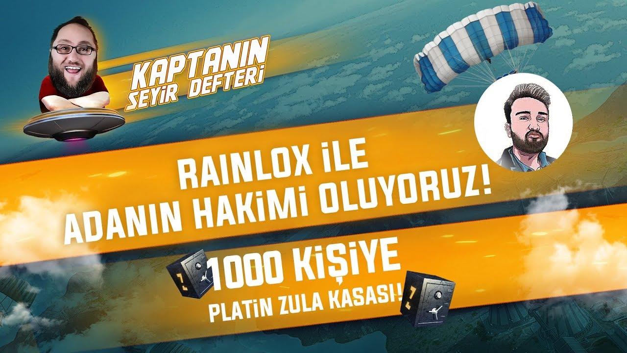 KAPTANIN SEYİR DEFTERİ BAYRAM ÖZEL 1000 KİŞİYE PLATİN ZULA KASASI /w Rainlox