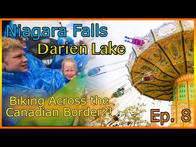 Magic Show | Theme Park | Niagara Falls | Bikes Across the Border?! Intentional Adventure Ep. 9