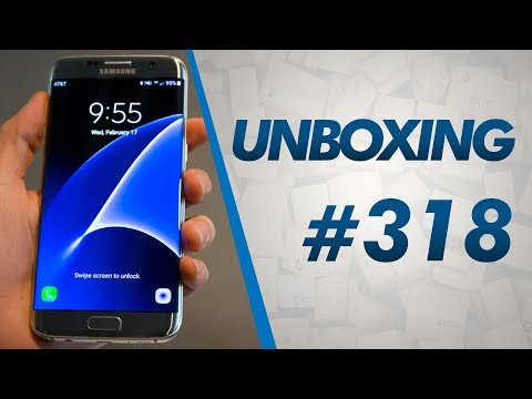 Unboxing #318 - Galaxy S7, Aeropostale, Tênis New Balance, Óculos e Relógio - R$960,00 DE TAXA - 6lb