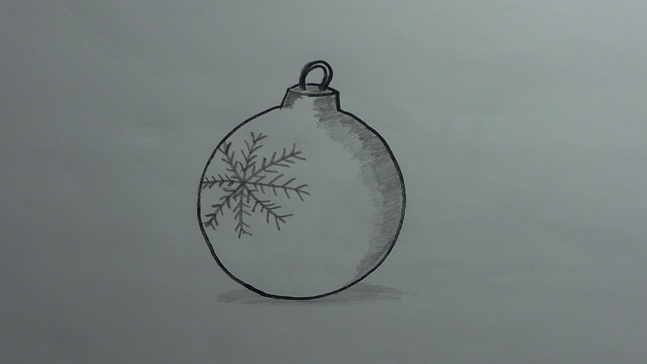 How To Draw An Ornament Christmas Collection