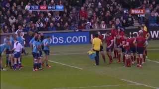 Rugby Sei Nazioni 2015: Scozia - Italia (gli ultimi 10 minuti)