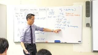 Mathematical Induction - Proving Divisibility by 4 (2 of 2: How to use the assumption)