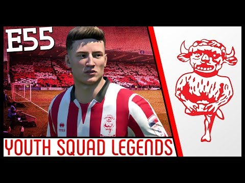 HIS NAME IS CONE!!! - Lincoln City | FIFA 18 Career Mode (Ep 55) Youth Academy | YOUTH SQUAD LEGENDS