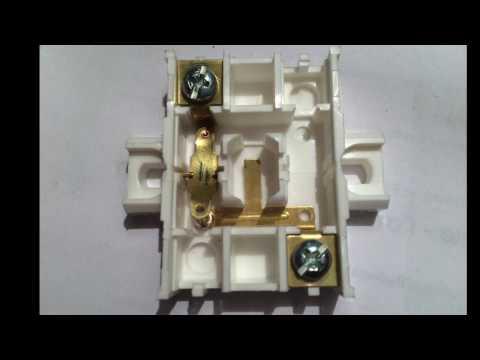Выключатель Пралеска одноклавишный со световой индикацией