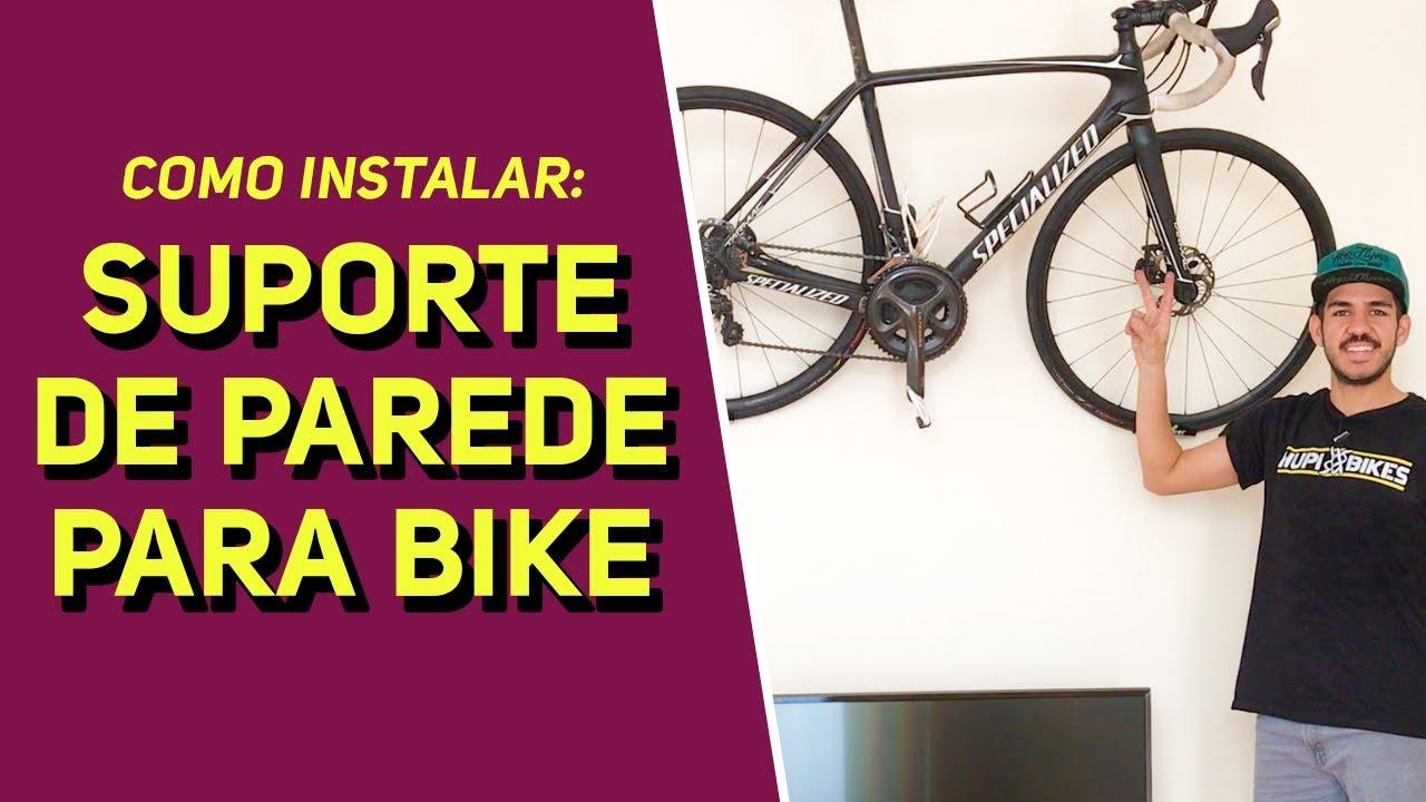 106660489 Como pendurar a bike na parede com suporte e como instalar - Revista Ride  Bike