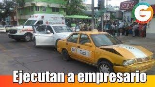Empresario asesinado en Tabasco