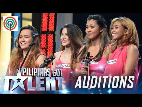 Pilipinas Got Talent Season 5 Auditions: Rouge - All-Female Rock Band