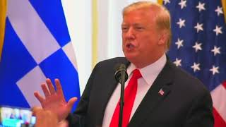 President Donald Trump hosts Greek Independence Day Celebration 2019 at the White House