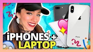 SORTEO iPHONES Y LAPTOP! + MIS METAS DEL 2018!!! thumbnail