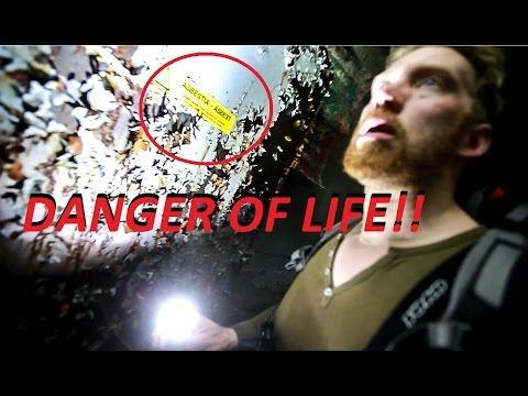 Don´t Play With Your Life!! BASEMENT (dangers of urban exploration) Huge School part.4
