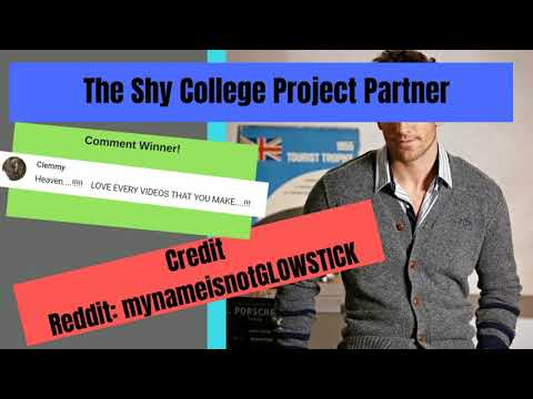 Male ASMR - The Shy College Project Partner (Gay Role Play For Men)(Yandere)
