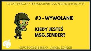 S02E03 - Co oznacza msg.sender w smart contrakcie na Ethereum?