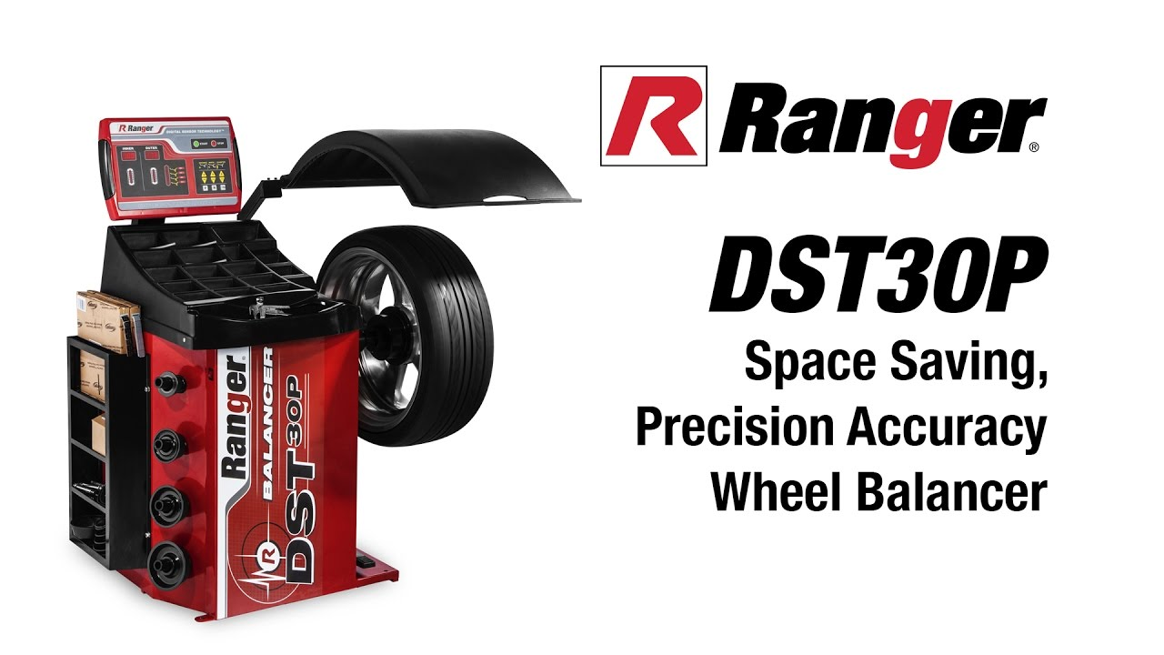 Ranger DST30P Wheel Balancer Is Fast And Easy To Use on