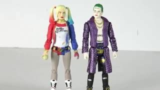 Legion Of Collectors: Funko 3 3/4 Suicide Squad Joker and Harley Quinn review