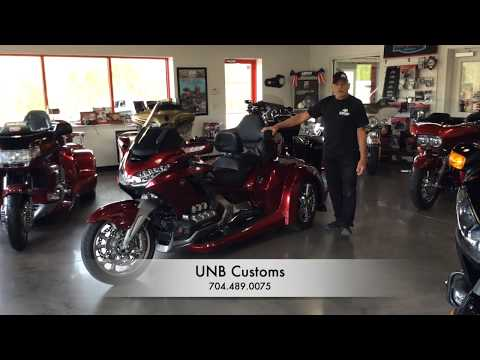 NEW 2018 AUTOMATIC Honda Goldwing Trike. Built by UNB Customs