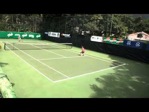 June Lee January 2012 ITF Tennis Match Analysis