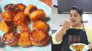 Nendran Pazham Roast | Pan Fried Cinnamon Banana Roast | ஏத்தன் பழம் Roast in Tamil