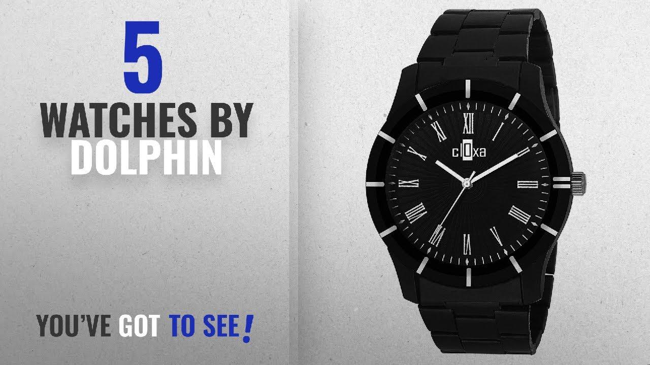 3fd6970f4dbc9 Top 10 Dolphin Watches  2018   Dolphin High Quality Formal   Stylish Branded  Fashion Analog Black
