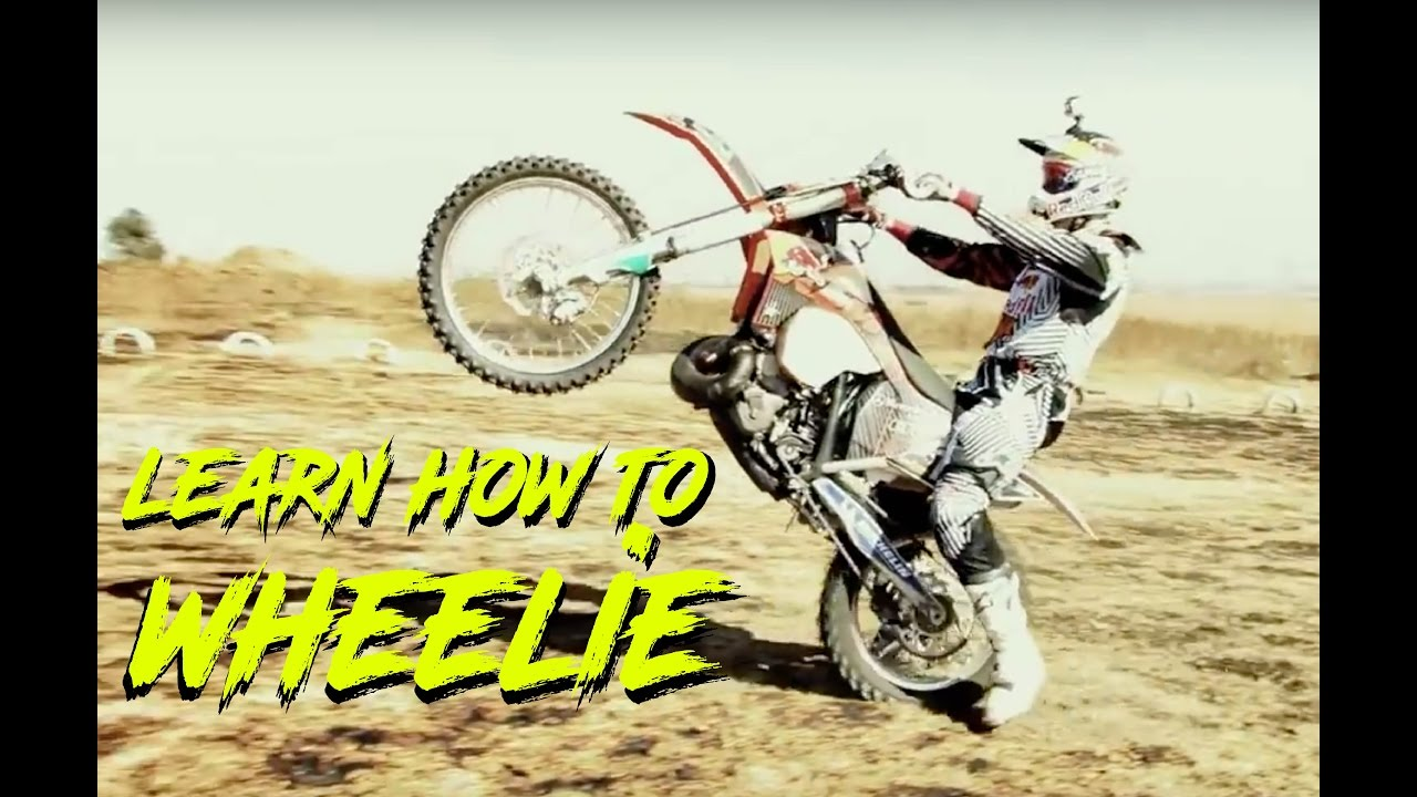 Can you learn to wheelie without crashing? : motorcycles
