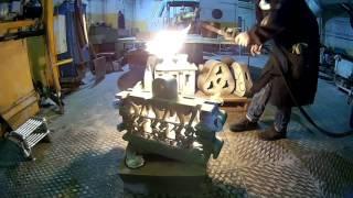 Изготовление головки блока цилиндров
