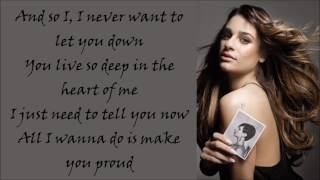 Watch Lea Michele Proud video