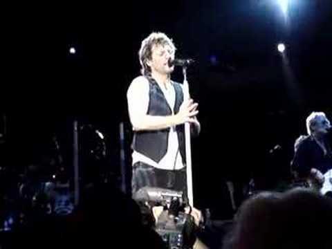 Bon Jovi Hellelujah Melbourne 19 Jan 08