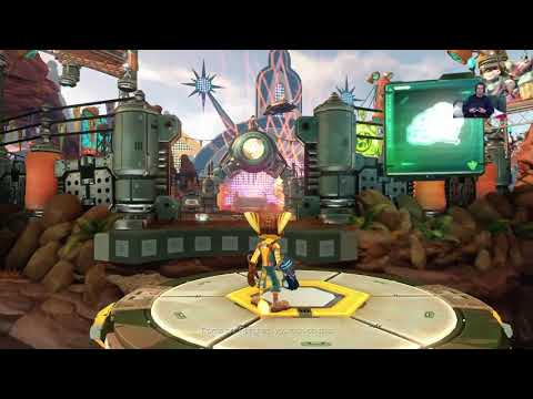 PS PLUS márciusi Free Game 2 -  Ratchet & Clank LiVE PS4 Broadcasting