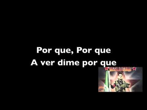 Regulo Caro-Vengo A Reclamarte Lyrics