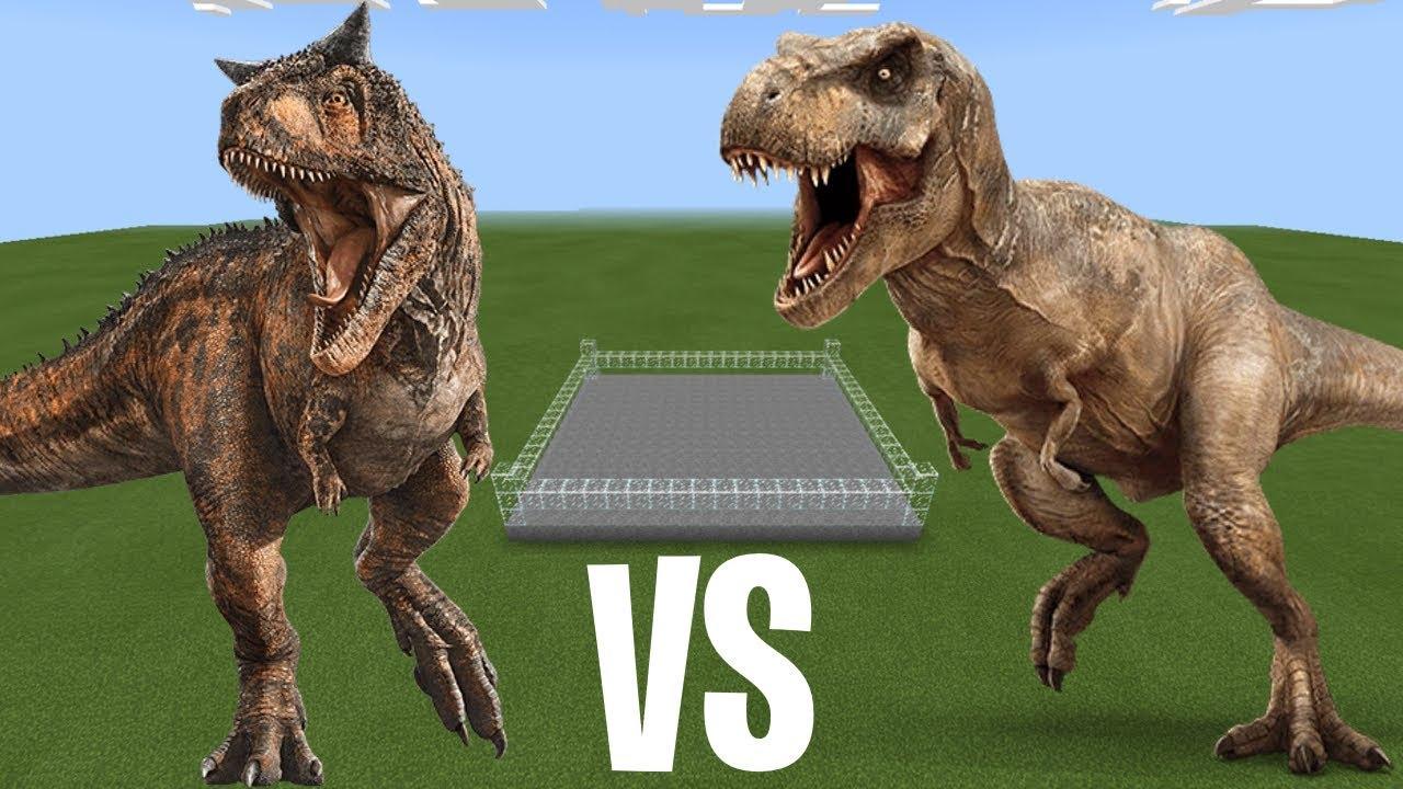 Tyrannosaurus Rex Vs Carnotaurus