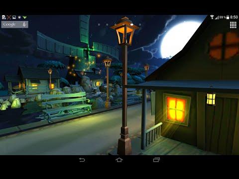 Ночной город 3D.