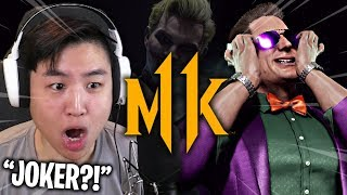 Mortal Kombat 11 - NEW Johnny Cage JOKER SKIN!! [REACTION]