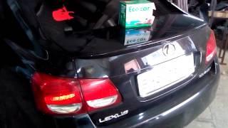 Установка топливного катализатора Eco-cars в топливный бак Лексус(, 2014-07-14T09:55:41.000Z)
