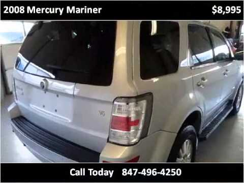 2008 Mercury Mariner Used Cars Palatine,Wheeling,Arlington H