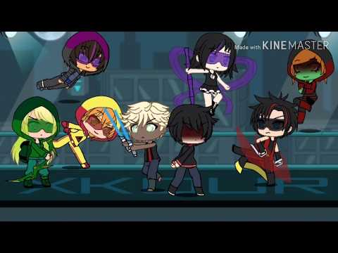 young justice daily life vs superhero life looks