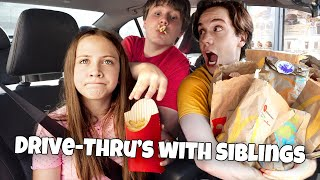 Drive Thru's With Siblings Be Like 😂