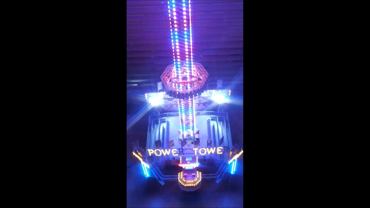 Elegant Faller Power Tower Modell Mit RGB SMD LED Beleuchtung