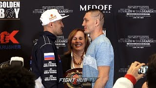 The return! Sergey Kovalev vs. Vyacheslav Shabranskyy Final Face Off Video