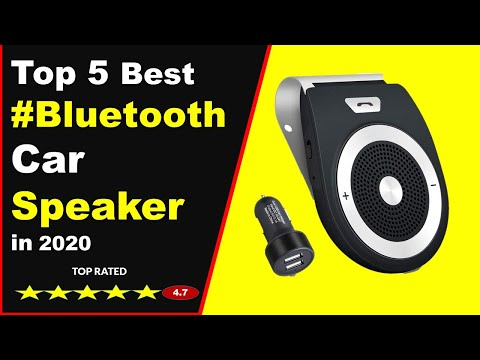 Top 5 Best Bluetooth Car Speakers In 2020 : Wireless In Car Handsfree Speaker