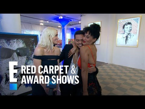 Tracee Ellis Ross Gushes Over Brother Evan's Art | E! Red Carpet & Award Shows
