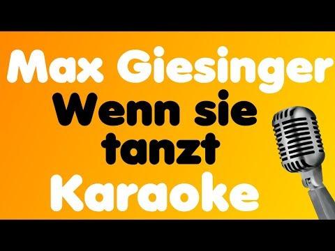 Max Giesinger - Wenn sie tanzt - Karaoke