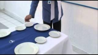 Clase Maestra   Montaje De Mesa Cafeteria   Incap   La Vía Del Progreso
