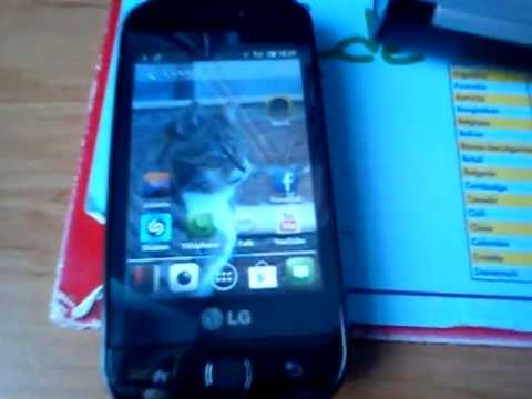 LG GW620 Android 2.3.7