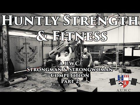 A.U.W.C Strongman & Strongwoman Competition Part 2