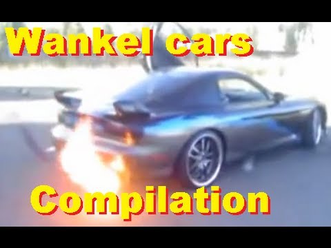 Wankel cars compilation - Mazda, Lada, Citroën and more! Amazing sounds