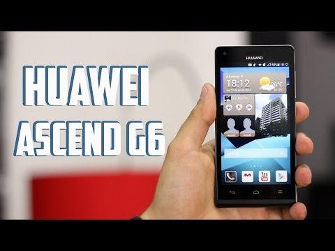 Huawei Ascend G6, review en Español