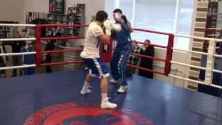 Динамо (Москва) vs Milano Thunder в Академии Бокса