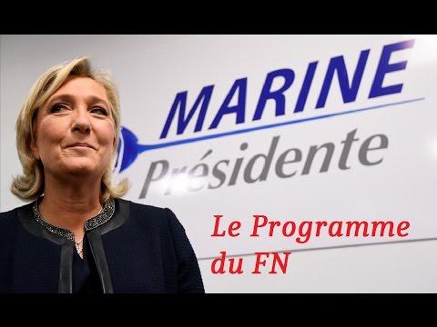 Marine Le Pen : LES MESURES DE SON PROGRAMME !