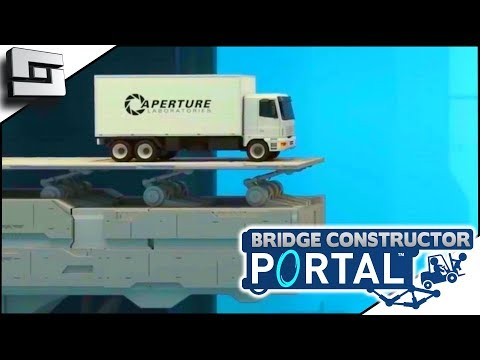 So Much Death! BRIDGE CONSTRUCTOR PORTAL! Level 31,32,33,34